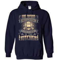 Chef - He who handles the knife T-Shirt Hoodie Sweatshirts iei. Check price ==► http://graphictshirts.xyz/?p=57391