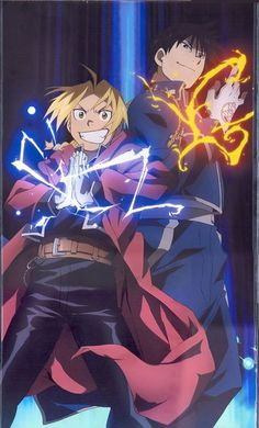 Full Metal Alchemist - Roy Mustang and Edward Elric Full Metal Alchemist, Roy Mustang, Colonel Mustang, Fullmetal Alchemist Brotherhood, Fullmetal Alchemist Edward, Edward Elric, Anime Naruto, Manga Anime, Awesome Anime