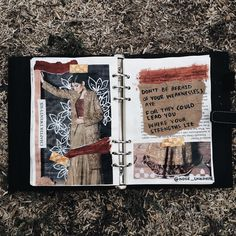 'don't be afraid  of your weaknesses; aye for they could lead you where your strengths lie' ✨ // art journal + poetry entry by noor unnahar   // journaling ideas inspiration, scrapbooking diy craft teen college students, artists creative creativity mixed media, quotes words poem, photography instagram Tumblr aesthetics flatlay grunge, collage cut and paste, planner bullet journal, writers of color woc //