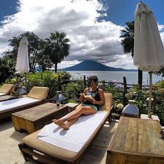 The 2016 Ninja season kicks off on Lake Atitlan in a month! See you poolside February 6-12, living your life by design like author, coach, and all around Ninja @hurleykat . . #Volcano #Atitlan #wanderlust #jetset #bucketlist #worklifebalance #firstclass #poolside #lifeisgood #fitnessguru #lovemylife #NinjaCampBali #Chosen #Chōsen #lux #Guatemala #lululemon