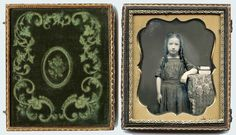 1 6 Plate Daguerreotype Photo Portrait of A Charming Girl | eBay
