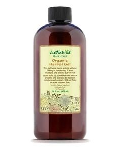 Organic Herbal Gel Grow New Hair Natural Organic Solutions  Anything for a good gel I'm in