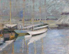 Paul César Helleu - A quai (vers 1900)