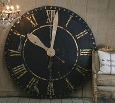 Crazy about big antique styled clocks