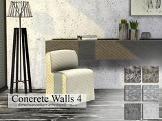 Sims 4 CC's - The Best: Walls by Cross Architecture
