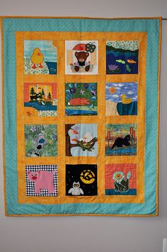Niki's Quilt by bbgailes, via Flickr