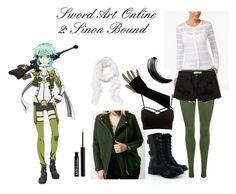 """""""Sinon Bound"""" by athena-parthenos ❤ liked on Polyvore featuring art"""