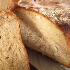 Grovbrød med nødder opskrift