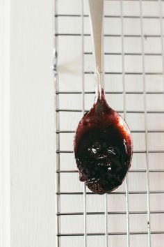 twangy blueberry sauce | the vanilla bean blog