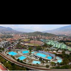 Unidad Deportiva Atanasio Girardot, Medellín-Colombia. Largest Countries, Countries Of The World, Colombian People, Innovative City, Spanish Speaking Countries, Beautiful Places In The World, How To Speak Spanish, South America, Pools