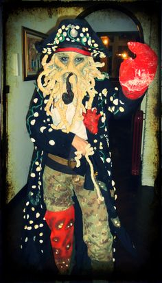 my Davy Jones handmade costume!!!