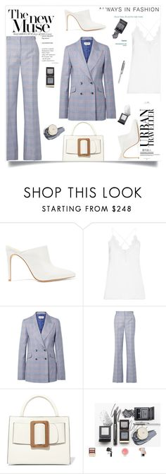 """""""My Mood Today"""" by lidia-solymosi ❤ liked on Polyvore featuring Alexandre Birman, Cami NYC, Gabriela Hearst and Allude"""