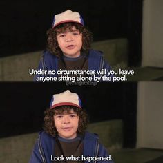 this is the only advice i'll take from someone else my age #strangerthings #dustinhenderson #gatenmatarazzo @gatenm123 -jess