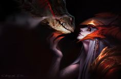 Shyvana,League of Legends,Лига Легенд,фэндомы,Chengwei Pan Shyvana League Of Legends, League Of Legends Memes, Dark Fantasy Art, Fantasy Characters, Female Characters, Naruto Characters, Lol Champions, Images Wallpaper, 1080p Wallpaper