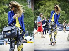 Blue and Yellow (by Nicoletta Reggio) http://lookbook.nu/look/3998196-Blue-and-Yellow