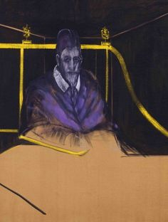 "Francis Bacon, ""Study for Portrait I"" (1953)"