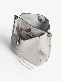 REBECCA MINKOFF - Darren grained leather shoulder bag | Selfridges.com