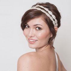 Victoria II bridal headpiece by Sash & Co