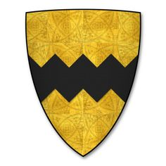 "K-010-Coat of Arms-VAVASOUR-William le Vavasour (""Guillames le Vavasours"") - Category:Caerlaverock Roll - Wikimedia Commons"
