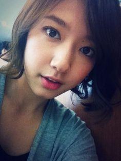Selca Central: Adorable Selfies Of Park Shin Hye