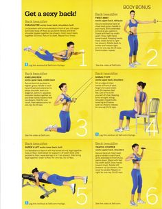 Get A Sexy Back With These Exercises