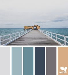 today's inspiration image for { color view } is by . thank you, Jette, for another incredible image share! House Color Palettes, Paint Color Palettes, Blue Colour Palette, Color Azul, Colour Schemes, Color Combos, Paint Colors, Color Trends, Design Seeds