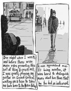 Meeting Pete Seeger, by Samuel Ferri