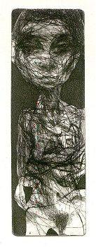 drypoint Sam Dillemans, the artist