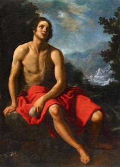 Cristofano Allori, John the Baptist in the Wilderness