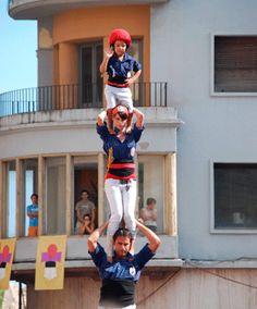 Els Xiquets del Serrallo organitzen per quart any la Diada Castellera de les Festes del Carme