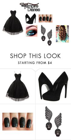 """""""Ballroom Outfit"""" by melissa3652 ❤ liked on Polyvore featuring Alexander McQueen and Vivian Jacob"""