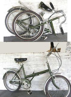 Bicicletta Pieghevole 20 Raleigh.Vintage Folding Bicycles Vintagefolding Su Pinterest