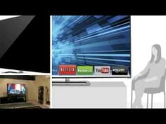 VIZIO M801d-A3R 80-Inch 1080p 240Hz LED 3D Smart TV with 8 3D glasses