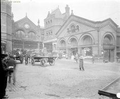 Smithfield Market 1929, Manchester City Centre.