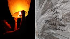 Read father's letter to girl whose sky lantern landed in his driveway