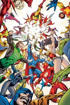 Justice League - Alan Davis