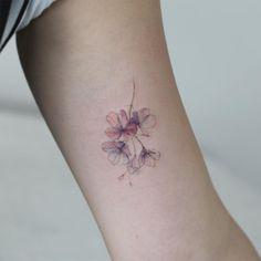 "(@tattooist_flower) na Instagramie: ""Cherry blossom…"""