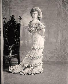 Miss E Elliotte, mid-late 1900's?
