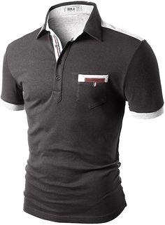 Polo Shirts With Pockets, Polo T Shirts, Polo Jeans, Men Shirts, Long Sleeve Polo, Short Sleeve Polo Shirts, Short Shirts, Casual T Shirts, Men Casual