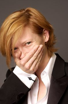 Tilda Swinton, for never apologizing, knowing she always has the last laugh Tilda Swinton, Cara Delevingne, Tv Movie, British Actresses, Androgynous, Famous Faces, Redheads, Red Hair, Youtubers