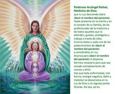 Oración de sanación al Arcángel Rafael. Everything that you want is coming. Just Relax and let the Universe pick the timing and the way. You just trust that it is coming and watch how fast it comes Holy Spirit Prayer, God Prayer, Spanish Prayers, Personal Prayer, San Rafael, Archangel Raphael, Angel Prayers, Your Guardian Angel, Angel Pictures