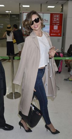 Miranda Kerr at Narita International Airport in Japan on June 19, 2016