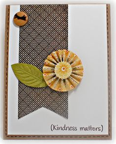 "Simply Elegant Paper Crafts blog; BasicGrey ""Piccadilly""; Neat & Tangled ""Kindness Matters"" sentiment stamp"