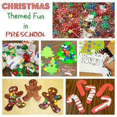 Mom to 2 Posh Lil Divas: Christmas Themed Fine Motor, Learning & Crafty Preschool Fun
