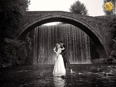 Title: Waterfall Romance | Category: People | Country: Greece