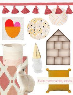 A Lovely Lark: Even More Nursery Ideas