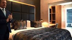 A show around one of Flemings Mayfair #luxury one bed #apartments with the Director of Sales, Colin Exton.