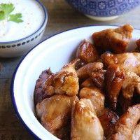 Poulet au miel et à la sauce soja »