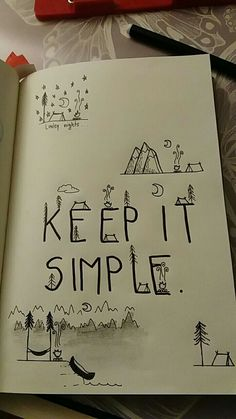 Keep It Simple, Arabic Calligraphy, Bullet Journal, Arabic Calligraphy Art