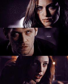 The Originals Hayley,Klaus and Hope